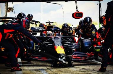 Kesalnya Verstappen Tidak Bisa Menyusul Duo Mercedes di GP Belgia