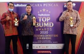 Gubernur dan Bank Sumut Raih Penghargaan BUMD 2020