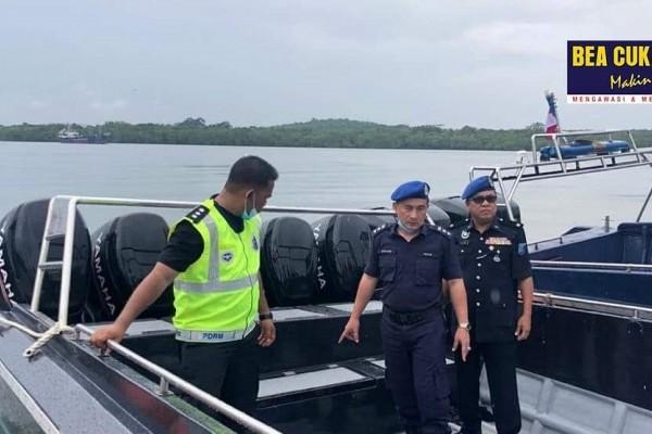 Sinergi Bea Cukai dan Polis Diraja Malaysia Gagalkan Upaya Penyelundupan Ekspor Pasir Timah Ilegal