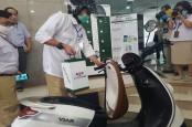 Tahap Awal, SPBKLU Hanya Melayani Penukaran Baterai Sepeda Motor