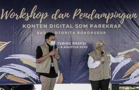550 Karya Mengikuti Lomba Logo Badan Otorita Borobudur