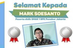 Hebat, Mark Soesanto Raih Medali di Ajang Olimpiade…