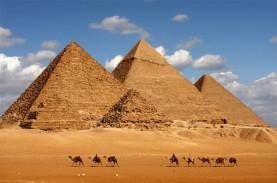 Wisata Piramida Giza Kini Dilengkapi Lounge dan Bioskop