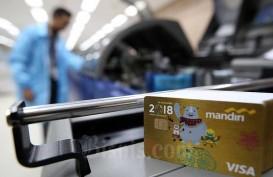 Penerbitan Kartu Kredit Baru di Bank Mandiri Turun Lebih dari 50 Persen