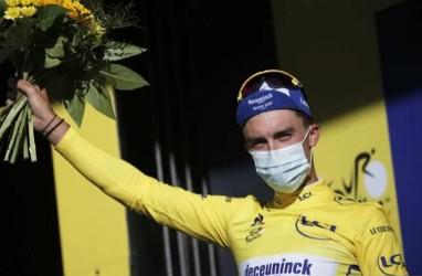 Kalah di Etape IV, Alaphilippe Masih Pimpin Klasemen Tour de France