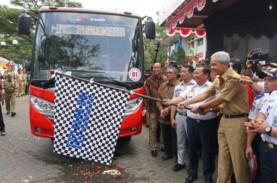 Bus Trans Jateng Solo-Sragen Mulai Beroperasi