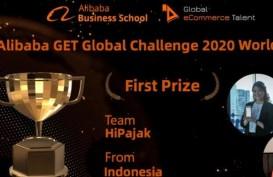 HiPajak Raih Juara Pertama Alibaba GET Challenge 2020
