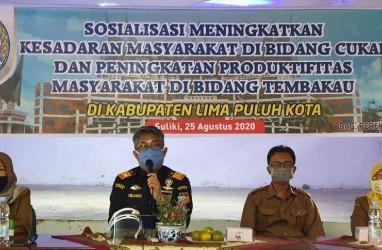 Bea Cukai Telukbayur Berperan Aktif Sosialisasikan Peningkatan Kesadaran Masyarakat di Bidang Cukai