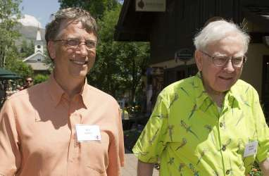 Dari Bridge ke Filantropi : 3 Dekade Persahabatan Warren Buffet dan Bill Gates