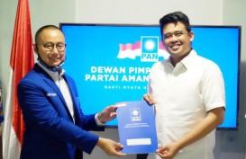 PAN Resmi Dukung Bobby Nasution di Pilwalkot Medan