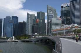 RESESI SINGAPURA : Ekonomi Mampat, Laju Ekspatriat…
