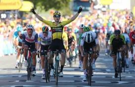 Van Aert Kuasai Etape V Tour de France, Alaphilippe Tergusur
