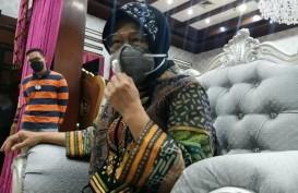 Reaksi Risma saat 393 Guru SD dan SMP di Surabaya Positif Covid-19