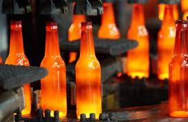 Pabrik Botol Kaca KCI di Cakung Terbakar