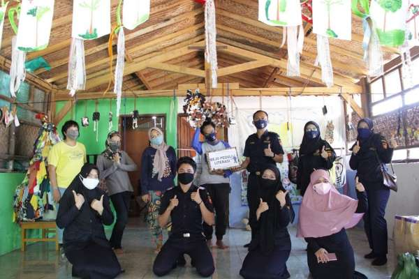 Bea Cukai Yogyakarta Peduli Sekolah Gratis Kaum Marjinal