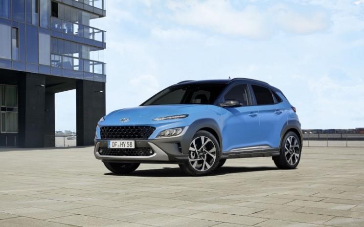 Tampilan terbaru Hyundai Kona. - Istimewa