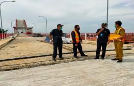 INFRASTRUKTUR : Jembatan Musi VI Optimistis Rampung Tahun Ini