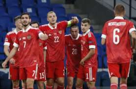 Hasil Nations League: Rusia Tekuk Serbia, Dzyuba Cetak…