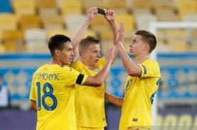 Hasil Nations League: Ukraina Menang Tipis atas Swiss