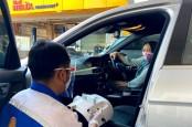 Hari Pelanggan, Shell Disinfeksi Mobil dan Tebar 10.000 Masker