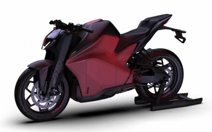 Motor listrik F77 dari Ultraviolette Automotive - ultraviolette.com