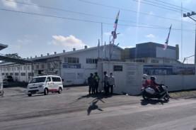 Pabrik Garmen di Delanggu Klaten Didisinfektan Antisipasi…