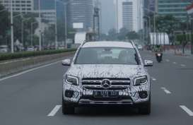 Siap Dirilis, SUV Anyar Mercedes-Benz Diuji Coba di Jalan Ibu Kota
