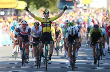 Lagi, Wout van Aert Berjaya di Tour de France, Menangi Etape Ketujuh