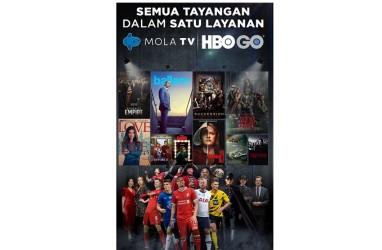 Mola TV Gandeng HBO GO Hadirkan Tayangan Premium