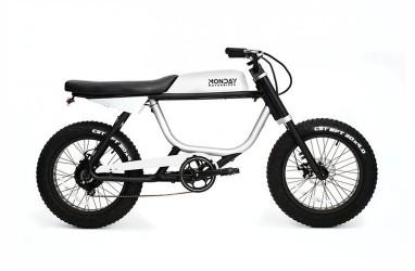Unik, Sepeda Listrik Anza dari Monday Motorbikes
