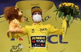 Primoz Roglic Pimpin Klasemen Umum Tour de France