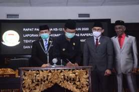APBD Perubahan Palembang Disepakati Rp4,4 Triliun