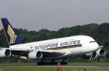 9 September, Singapore Airlines Terbangi Surabaya 2 Kali Seminggu