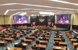 Empat Fraksi DPRD DKI Walk Out dalam Rapat Paripurna Raperda P2APBD