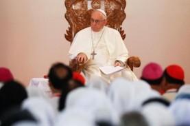 Ingatkan Bahaya Gosip, Paus Fransiskus: Lebih Buruk…