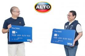 Visa dan Alto Bermitra di Kartu Debit Dalam Negeri