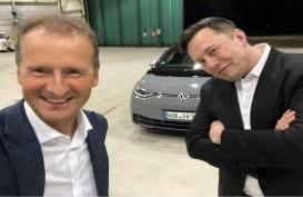 Bos VW Ketemu CEO Tesla Elon Musk, Ada Kesepakatan Apa Ya?