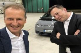 Bos VW Ketemu CEO Tesla Elon Musk, Ada Kesepakatan…