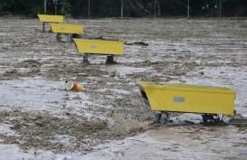 Ini Progres Proyek Pencegah Banjir Bandang di Luwu Utara