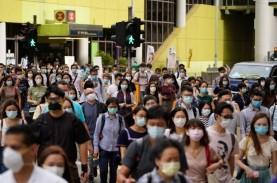 Kasus Covid-19 Terus Turun, Hong Kong akan Longgarkan…
