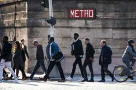 Aktivitas Ekonomi Prancis Kembali ke Kapasitas 95…