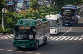 Waduh, Pemprov DKI Kendorkan Target Bus Listrik TransJakarta
