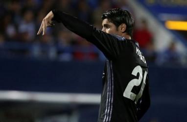 Juventus Berusaha Merekrut Striker Atletico Madrid Alvaro Morata