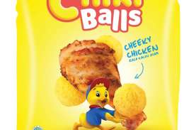 Beli Chiki Balls Kemasan Jumbo, Berhadiah Masker