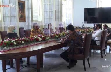 Tim Vaksin Merah Putih Temui Presiden Jokowi, Begini Suasananya