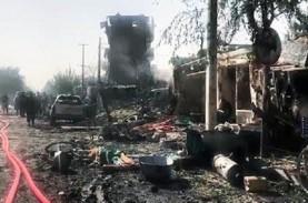Wapres Afghanistan Selamat dari Serangan Bom, 10 Orang…