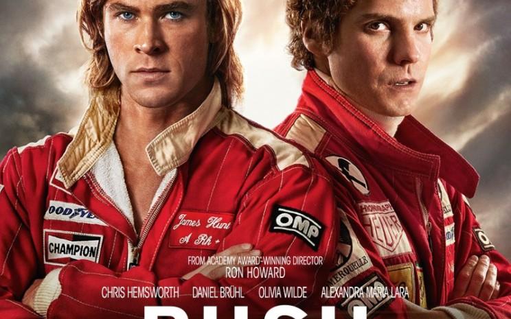 Film Rush tayang di Bioskop Trans TV pada Rabu (9/9 - 2020) malam.