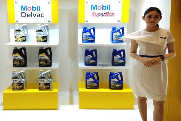 ExxonMobil Lubricants Indonesia luncurkan pelumas untuk pikap, Rabu (16.5.2017). - Bisnis.com/Muhammad Khadafi