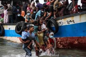 Terima Hampir 400 Pengungsi Rohingya, Indonesia Desak…