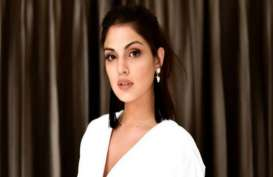 Aktris Bollywood Cantik Rhea Chakraborty Ditahan Atas Kasus Narkoba yang Menewaskan Sushant Singh